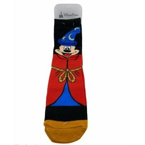 Disney Parks Sorcerer Mickey Mouse Socks